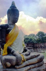 Buddha in blue jeans / Ayutthaya 10.03.2012